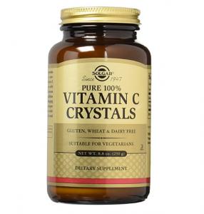image of solgar vitamin c crystals